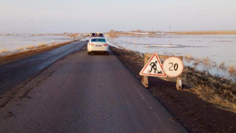 10 сәуірге арналған Қарағанды облысындағы су тасқыны жағдайы туралы