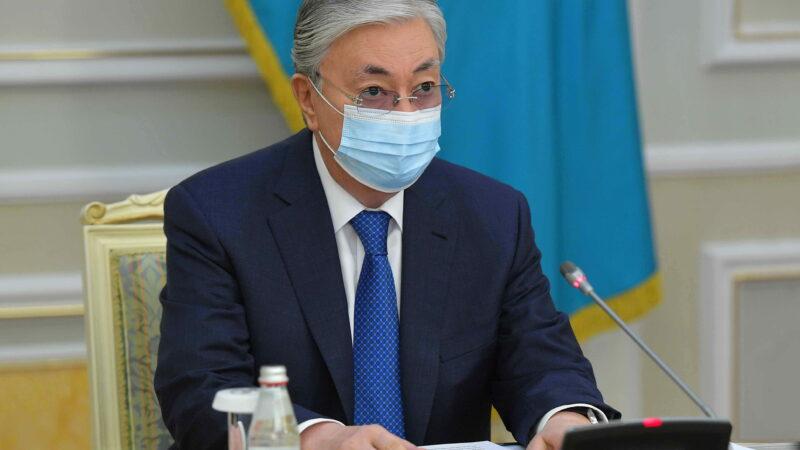 Мемлекет басшысы еліміздегі коронавирус індетіне байланысты эпидемиологиялық ахуал жөнінде кеңес өткізді