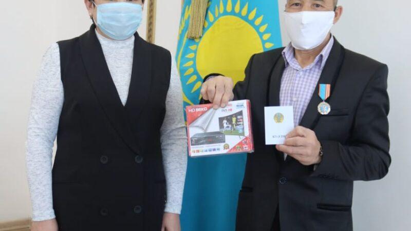 Чернобыль ардагері наградталды