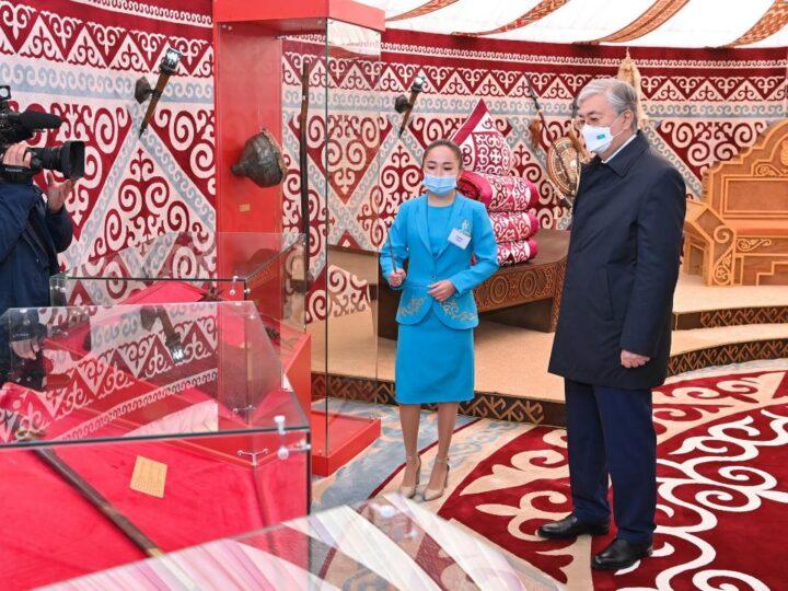Президент Қасым-Жомарт Тоқаев «Жошы хан» тарихи-мәдени кешеніне барды